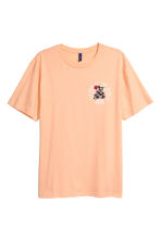 Printed T-shirt - Apricot - Men | H&M CA 2